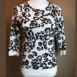 Ann Taylor Wild Cat sweater